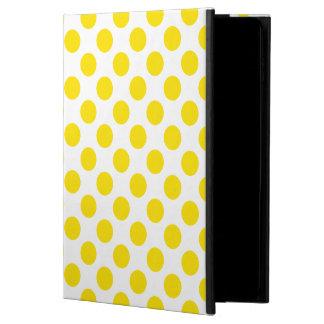 Capa Para iPad Air 2 Bolinhas amarelas