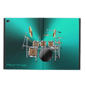 Capa Para iPad Air 2 Caixa ajustada do ar do iPad do cilindro grande da