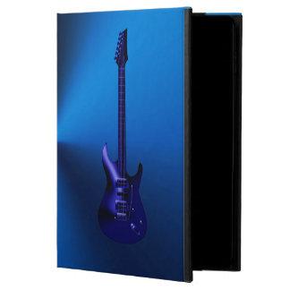 Capa Para iPad Air 2 Caixa azul do ar do iPad do monograma da guitarra