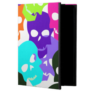 Capa Para iPad Air 2 Crânios coloridos