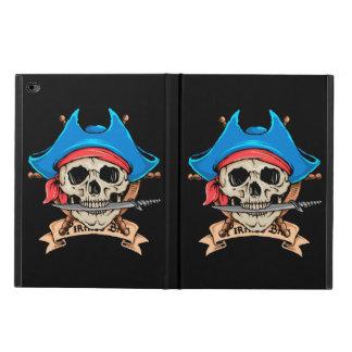 Capa Para iPad Air 2 Faca cortante do crânio do pirata