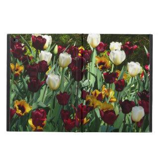 Capa Para iPad Air 2 Floral colorido das tulipas marrons e amarelas