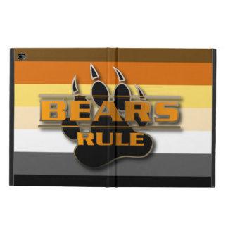 Capa Para iPad Air 2 O orgulho do urso colore a regra dos ursos