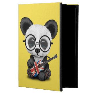 Capa Para iPad Air 2 Panda do bebê que joga a guitarra britânica da