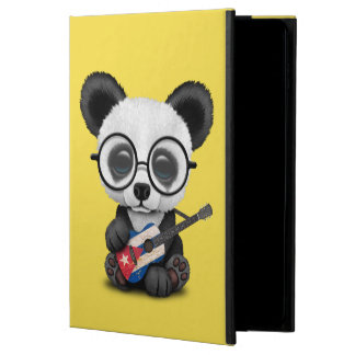 Capa Para iPad Air 2 Panda do bebê que joga a guitarra cubana da