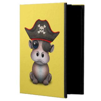 Capa Para iPad Air 2 Pirata bonito do hipopótamo do bebê