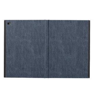 Capa Para iPad Air 2 Teste padrão azul da sarja de Nimes