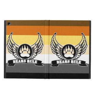 Capa Para iPad Air A bandeira alegre do orgulho do urso carrega a