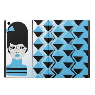 Capa Para iPad Air caixa do ar do iPad - MENINA MODERNA do CABELO