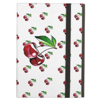 Capa Para iPad Air Caixa retro bonito e suporte da tabuleta da cereja