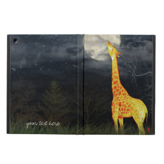 Capa Para iPad Air Caso do iPad 2/3/4/Mini/Air do girafa e da lua |