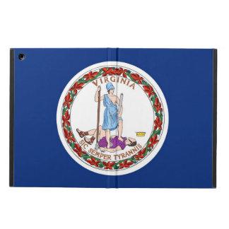 Capa Para iPad Air Caso patriótico do ipad com a bandeira de Virgínia