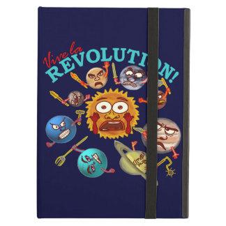Capa Para iPad Air Desenhos animados engraçados do sistema solar da