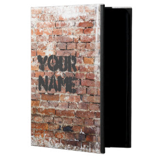 Capa Para iPad Air Estilo urbano da parede de tijolo dos grafites do