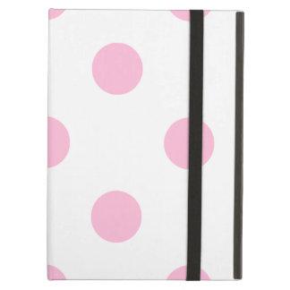 Capa Para iPad Air Grandes bolinhas - algodão doce no branco