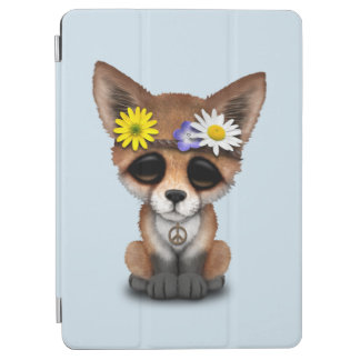 Capa Para iPad Air Hippie bonito do Fox do bebê