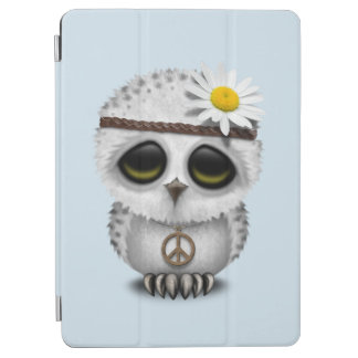 Capa Para iPad Air Hippie nevado da coruja do bebê bonito