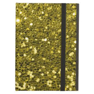 Capa Para iPad Air Impressão Glam da faísca do brilho do ouro do
