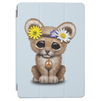 Capa Para iPad Air Leão bonito Cub do Hippie