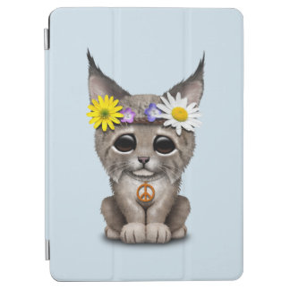 Capa Para iPad Air Lince bonito Cub do Hippie