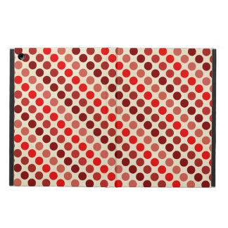 Capa Para iPad Air Máscaras de bolinhas vermelhas por Shirley Taylor