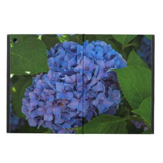 Capa Para iPad Air Máscaras do azul - o Hydrangea azul