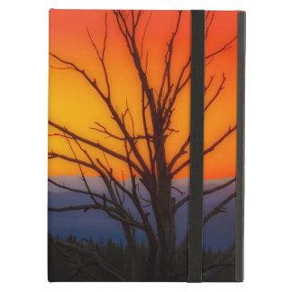Capa Para iPad Air Nascer do sol sobre o design do parque nacional de