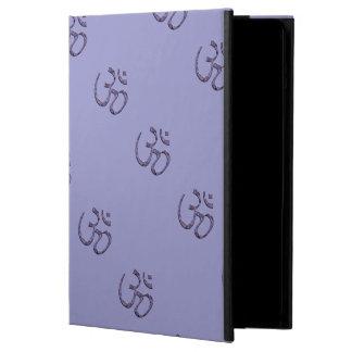 Capa Para iPad Air O OM roxo projeta