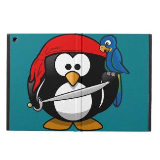 Capa Para iPad Air Papagaio do pinguim do pirata