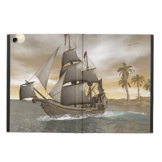 Capa Para iPad Air Sair do navio de pirata - 3D render.j