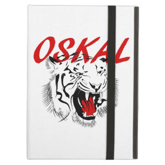 Capa Para iPad Air Tigre grande sorrir forçadamente de Oskal