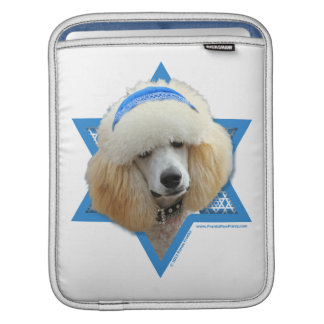 Capa Para iPad Estrela de David de Hanukkah - caniche - abricó