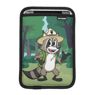 Capa Para iPad Mini Apontar do rick da guarda florestal do rick | da