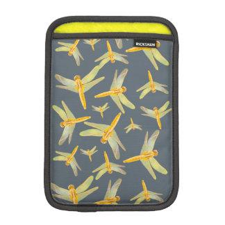 Capa Para iPad Mini Impressão do amarelo e das libélulas do ouro