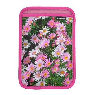 Capa Para iPad Mini Luva do ipad das margaridas cor-de-rosa bonito