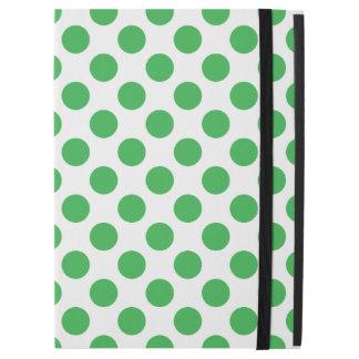 """Capa Para iPad Pro 12.9"""" Bolinhas verdes"""