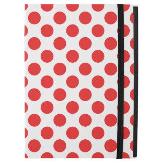 """Capa Para iPad Pro 12.9"""" Bolinhas vermelhas"""