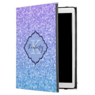 """Capa Para iPad Pro 12.9"""" Brilho Monogrammed do inclinação"""