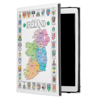 "Capa Para iPad Pro 12.9"" Condados caso do iPad de Ireland do pro"
