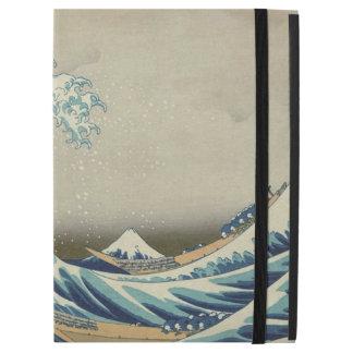 "Capa Para iPad Pro 12.9"" Hokusai a grande onda fora de Kanagawa GalleryHD"