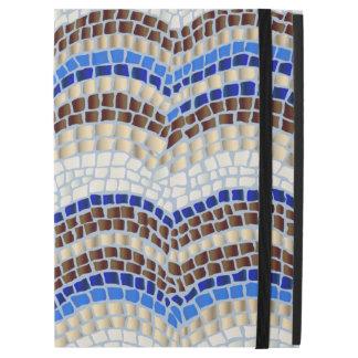 """Capa Para iPad Pro 12.9"""" iPad azul do mosaico pro sem Kickstand"""