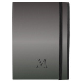 "Capa Para iPad Pro 12.9"" Máscaras do monograma preto"