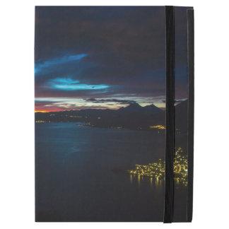 """Capa Para iPad Pro 12.9"""" Pro caso do iPad azul do por do sol"""