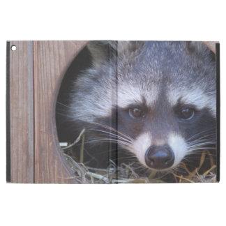 "Capa Para iPad Pro 12.9"" Racoon guaxinim"