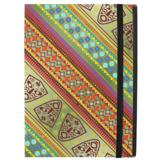 """Capa Para iPad Pro 12.9"""" Teste padrão africano colorido da listra da"""