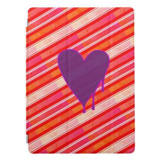 """Capa Para iPad Pro Roxo de derretimento 12,9 do coração """""""