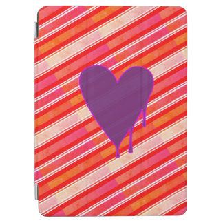 """Capa Para iPad Pro Roxo de derretimento 9,7"""" do coração"""
