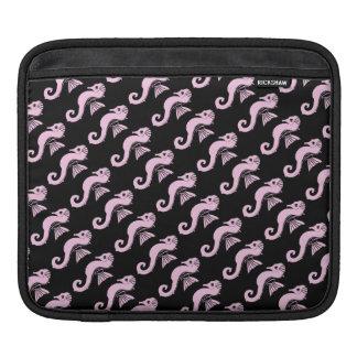 Capa Para iPad rosa do cavalo marinho
