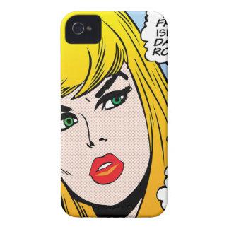 Capa Para iPhone 4 Case-Mate fêmea-liberdade