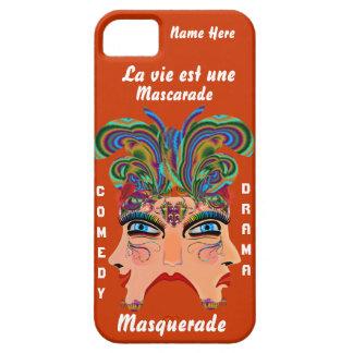 Capa Para iPhone 5 A opinião importante do drama de Masq do carnaval